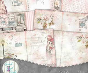 etsy, collage sheet, and scrapbook pages image
