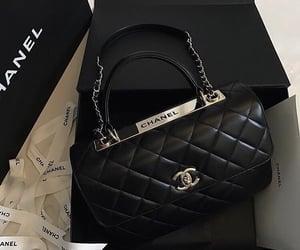 chanel, black, and bag image