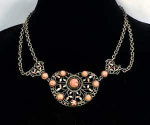 czechoslovakia, festoon necklace, and czech necklace image