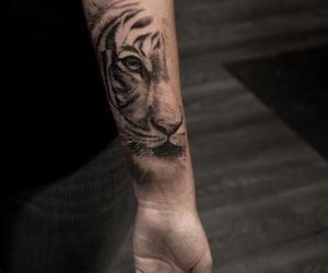 arm, awesome, and tattoo image