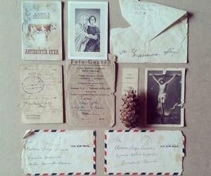antique, envelope, and vintage image