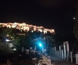 acropolis, city, and romance image