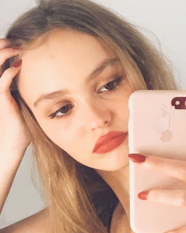 lily rose depp icons shared by loueilay on We Heart It
