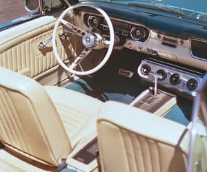 car, interior, and vintage image