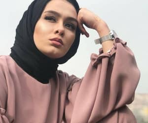 beauty, hijab, and outfit image