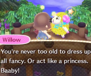 animal crossing, soft, and willow image