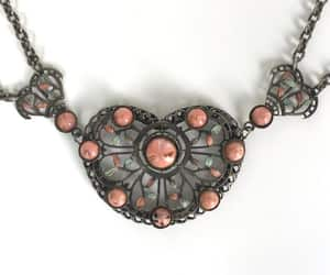 Czech glass, vintage necklace, and epsteam image