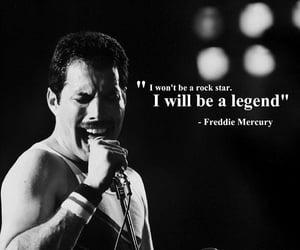 legend, Queen, and Freddie Mercury image