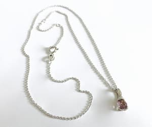 amethyst, sterling silver, and vintage jewelry image