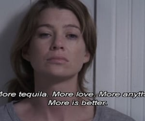 tequila, text, and grey's anatomy image