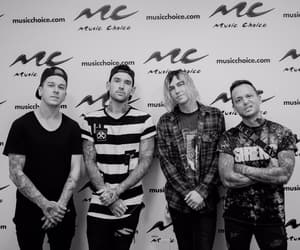 black and white, kellin quinn, and sleeping with sirens image