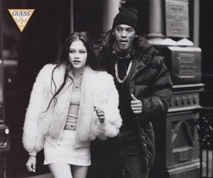 b&w, vintage, and fashion image
