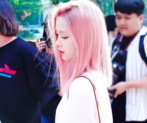 dyed hair, pretty, and itzy image