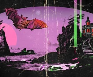 bats, black, and creepy image