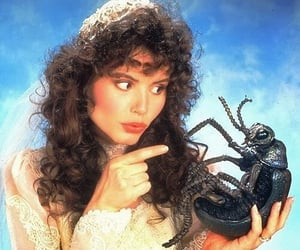 80's, geena davis, and horror image