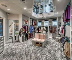 closet, lux, and walk-in image