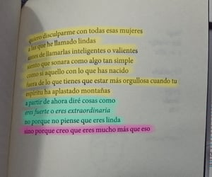 frases, woman, and poemas image