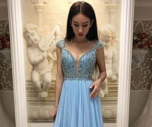 ball gown, bead prom dresses, and evening dresses image