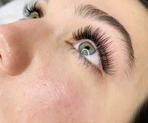 eyelash extensions, eyebrow shaping, and lash lounge image