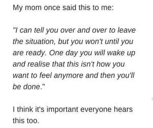 leave, mom, and quotes image