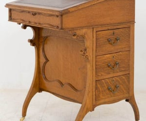 walnut desk image