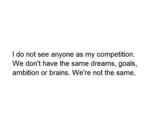 ambition, competition, and dreams image