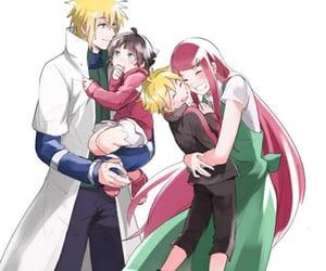 naruto, himawari, and kushina image