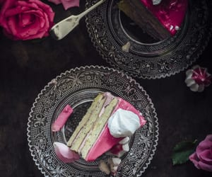 cake, poppy seed, and rosewater image