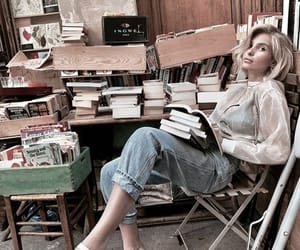 accessories, book, and chill image