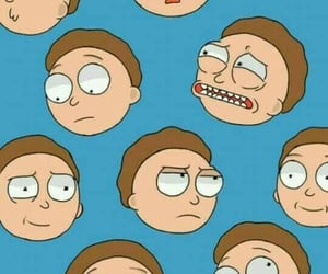 patterns, backgrounds, and rick and morty image