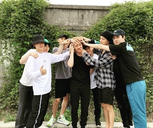 exo, kai, and zhang yixing image