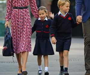 princess charlotte and prince george image