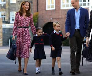 kate, prince william, and princess charlotte image