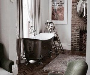decor, home, and bathroom image