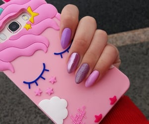aesthetic, case, and nails image