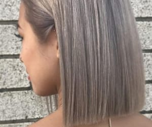 braid, hair, and braided image