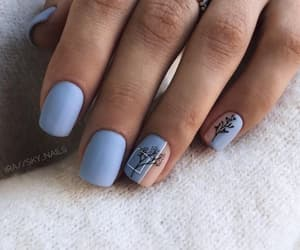 autumn and nails image