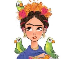 drawing, frida kahlo, and life image