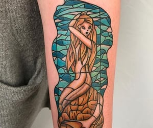 harry potter, ink, and mermaid image