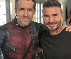 David Beckham and ryan reynolds image
