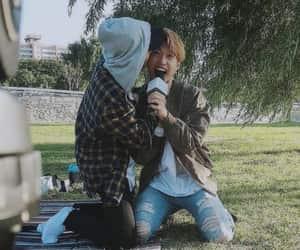 felix, han, and hyunjin image