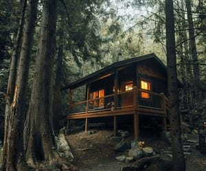escape, house, and nature image