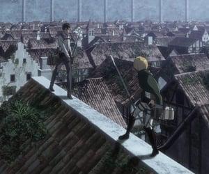 anime, titan, and armin image