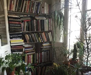 book, plants, and tumblr image