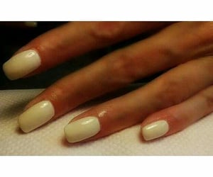 creamy, nails, and Nude image