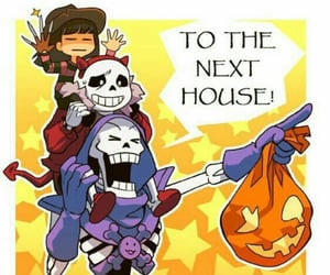 candy, Halloween, and papyrus image