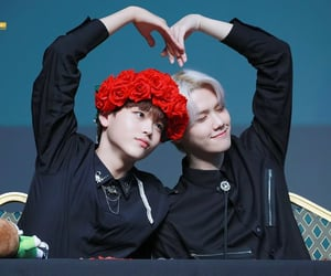 x1, minhee, and hyeongjun image
