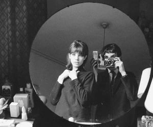 jane birkin, vintage, and black and white image