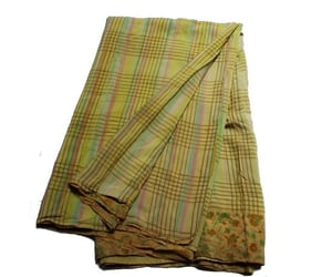 etsy, indian sari, and Vintage Fabric image