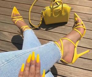 amarillo, elegant, and fashion image